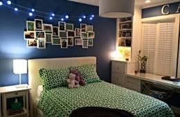 Bí quyết trang trí đèn led cho phòng ngủ thêm lãng mạn