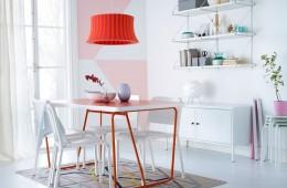 Mách nhỏ bí quyết sử dụng đèn led thả trang trí bàn ăn