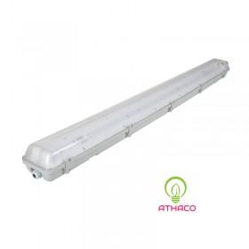 Đèn led chống ẩm 1m2 bóng led T8 chất lượng tốt