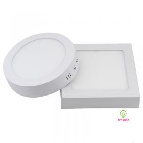 Đèn led ốp trần 3 chế độ 18W trắng vàng trung tính