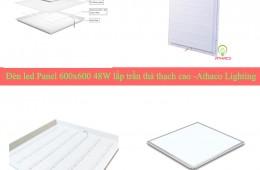 Đèn led panel 600x600 48w giá bao nhiêu, mua ở đâu chất lượng