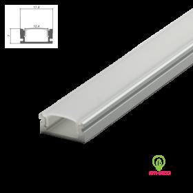 Đèn led thanh nhôm định hình U509 lắp nổi(Loại dày)