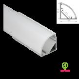 Đèn led thanh nhôm định hình V1616 lắp góc(Loại dày)