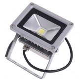 Đèn pha led 20W vỏ ghi siêu sáng