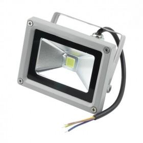 Đèn pha led 30W vỏ ghi siêu sáng