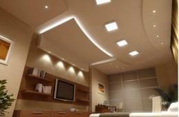 Tối ưu đèn led âm trần trong thiết kế trang trí trần nhà hiện đại