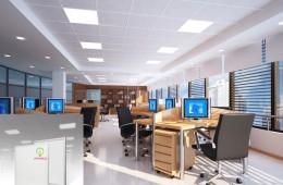 Lời khuyên về lựa chọn về lắp đặt hệ thống đèn led văn phòng chất lượng