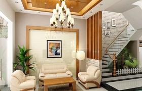Lung linh với những mẫu đèn led siêu sáng trang trí phòng khách