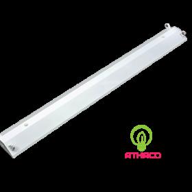 Máng đèn led công nghiệp 1m2 đôi chữ v