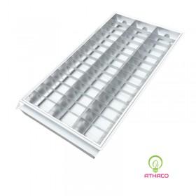 Máng đèn led phản quang 600x1200mm 3 bóng 1m2