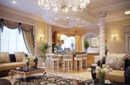 Tại sao nên chọn đèn chùm trang trí phòng khách?