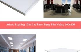 Tìm hiểu về đèn led âm trần panel dạng tấm vuông 600×600