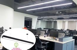 Tư vấn lắp đặt đèn thả văn phòng diện tích 50m2 tại Long Biên - Hà Nội