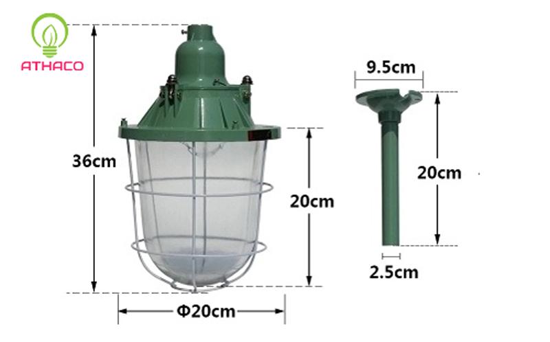 đèn chống cháy nổ athaco