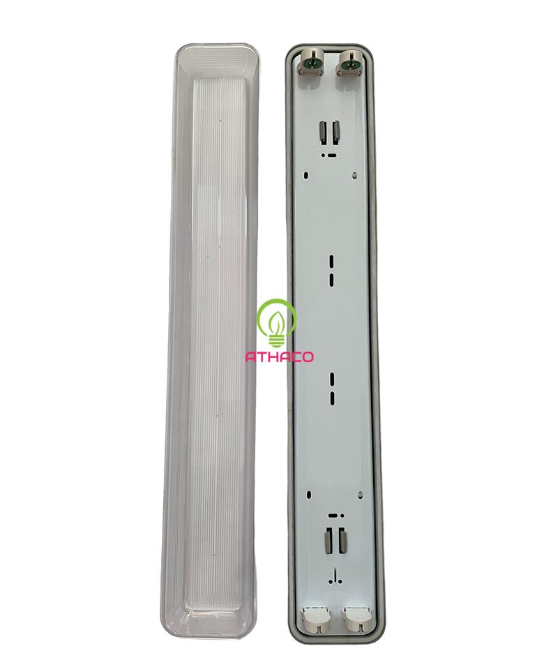 Máng đèn led chống ẩm đôi 0.6M 1