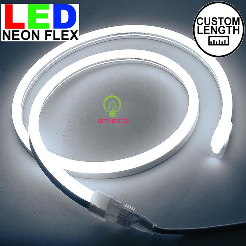 Đèn led dây neon 220v cuộn 100m màu trắng