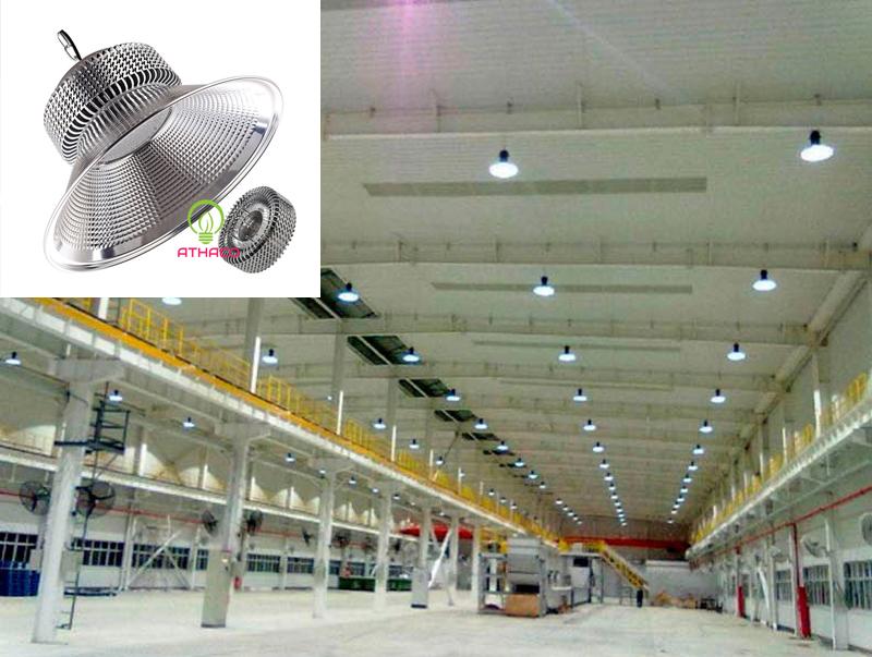 Đèn led nhà xưởng  Highbay 100W chip SMD Athaco
