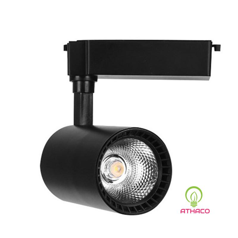 Đèn led rọi ray 20W lắp đặt ở shop, cửa hàng, showroom