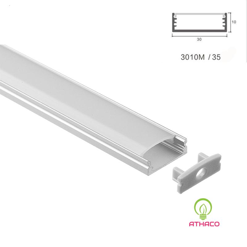 Đèn led thanh nhôm U3010 lắp nổi