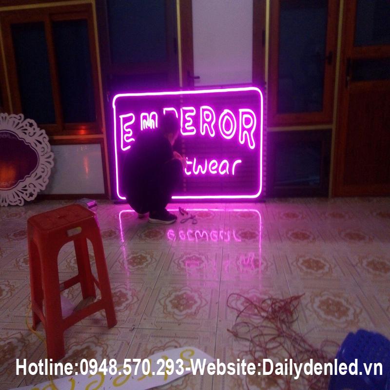 Đèn led dây Flex Neon 12V uốn chữ cao cấp