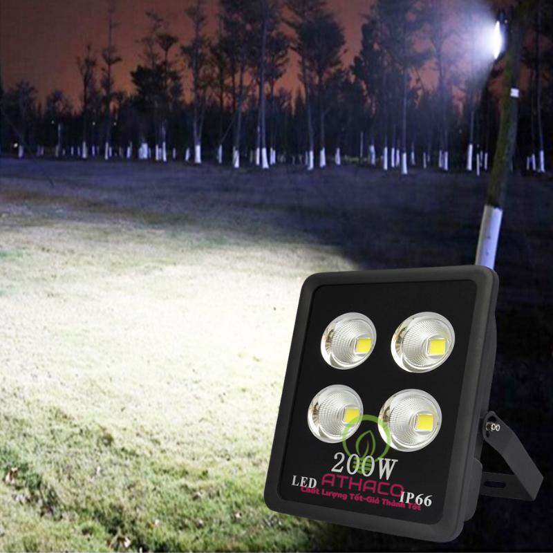 Đèn Pha Led 200W Cob Dạng Cốc