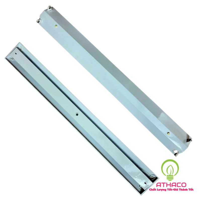 Máng đèn led công nghiệp 1m2 đôi chữ Vshape 2