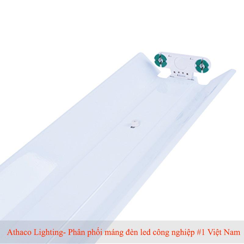 Máng đèn led đôi 1.2M Chóa Sơn Tĩnh Điện