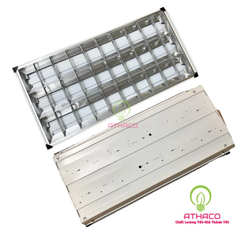 Máng đèn led phản quang 600x1200mm 3 bóng 1m2  1