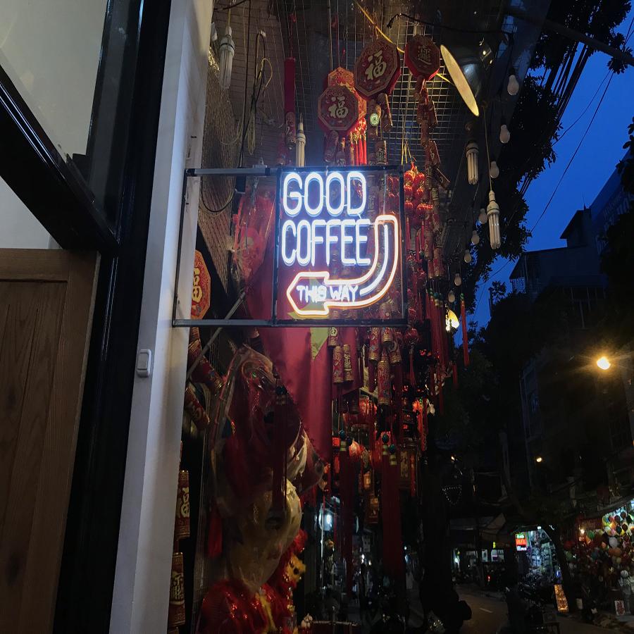 Tổng hợp đèn led trang trí quán cà phê được ưa chuộng nhất hiện nay