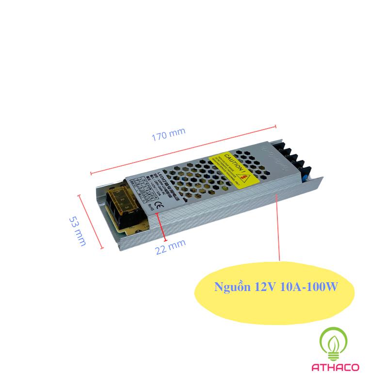 Nguồn led 12V 10A 12.5A 20A 30A siêu mỏng 1