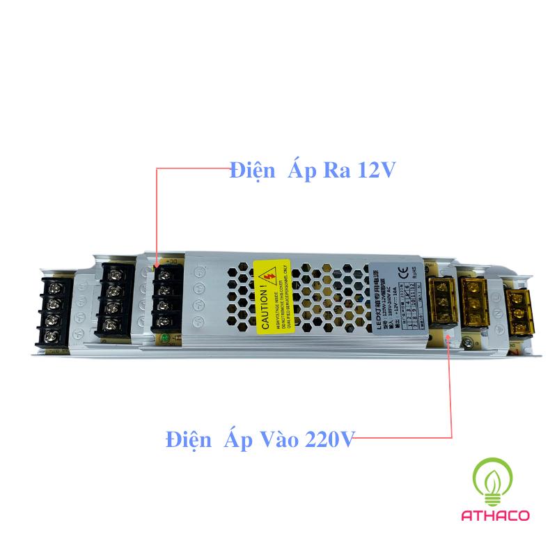 Nguồn led 12V dài siêu mỏng 1