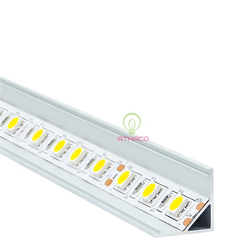 Đèn led thanh nhôm định hình V1616 lắp góc(Loại dày) 1
