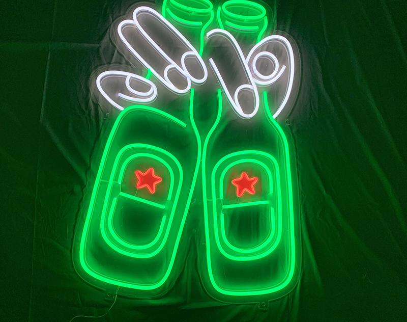 Thi công uốn chữ đèn led Neon Sign cho quán bar club và Karaoke ở đâu uy tín nhất?