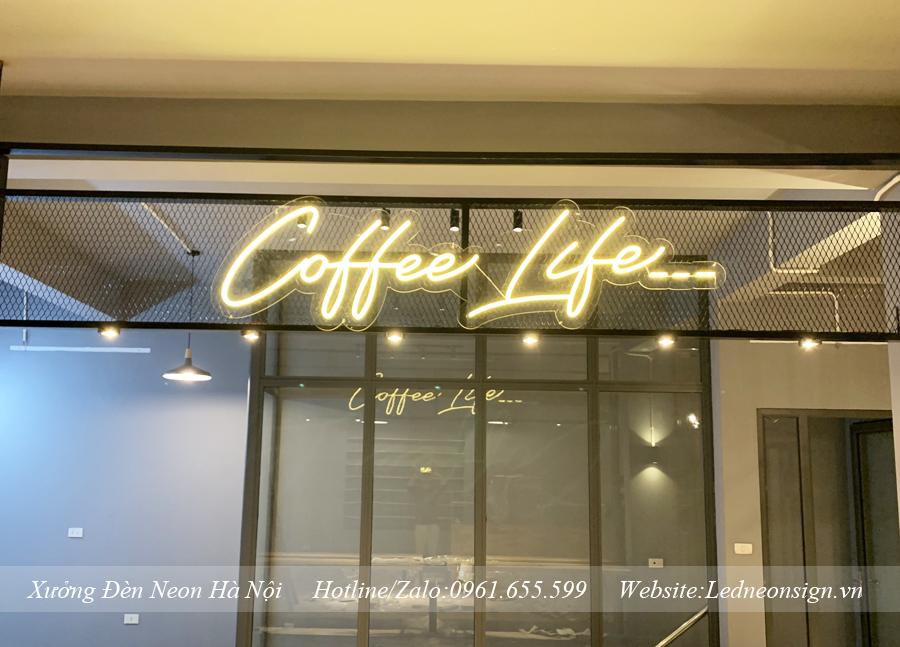 Các loại đèn led trang trí quán cà phê độc đáo ấn tượng nhất
