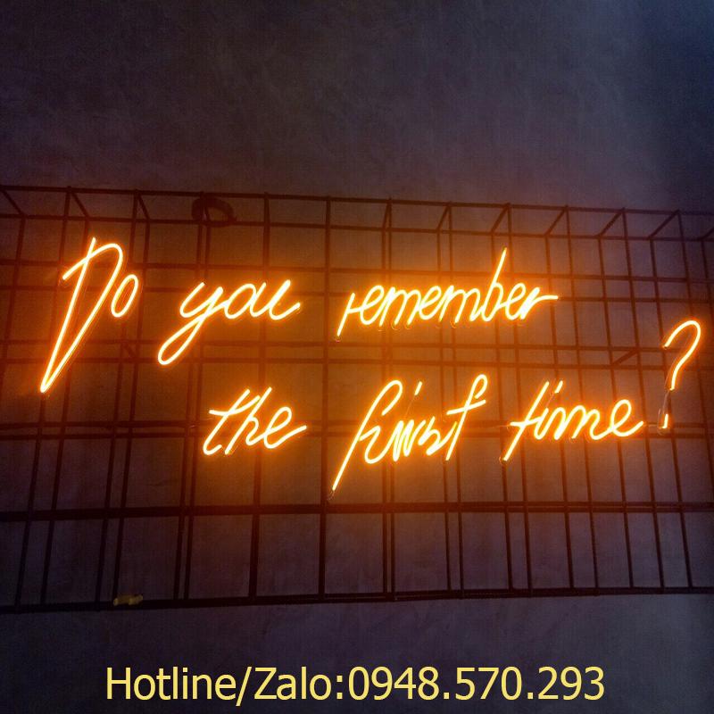 Địa chỉ thi công  đèn led dây Neon Sign uy tín chất lượng tại Hà Nội