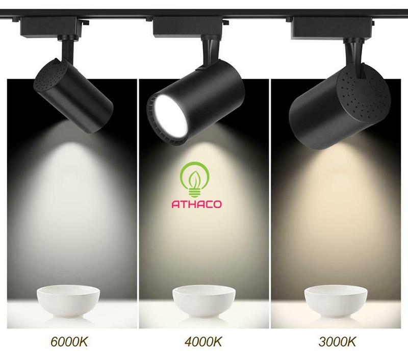 Chi tiết về đèn rọi ray và ưng dụng phổ biến